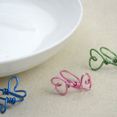 Wire Jewelry Diy   How To Make Rings In Butterfly Pattern