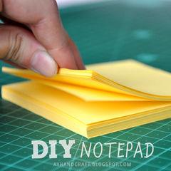Diy: Notepad