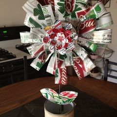 Recycled Beer Can Flower
