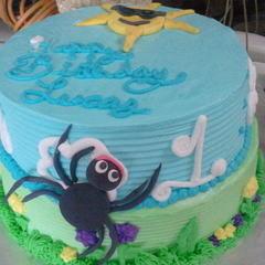 Itsy Bitsy Spider Cake
