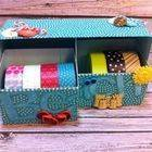 Beachy Keen Washi Tape Storage Box