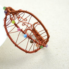 Diy Art Crafts Extraordinary Leaf Shape Wire Bracelet Ideas