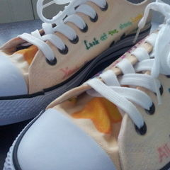 Bleached Lyric Sneakers