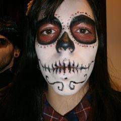 Mexican Skull Face