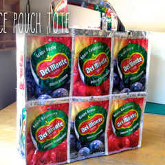Juice Pouch Tote