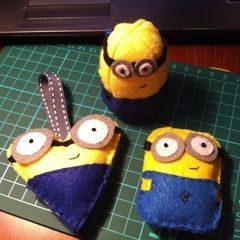 Despicable Me Felt Cuties