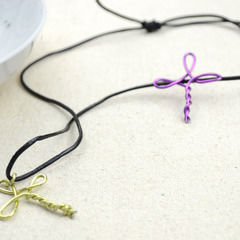 Metal Jewelry Ideas   Create A Cross Necklace For Girls
