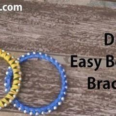 Diy: Easy Beaded Bracelet
