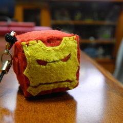 Cubed Iron Man's Head