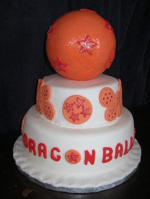 Dragon Ball Z Tiered Birthday Cake · A Cartoon Cake · Recipes on Cut ...