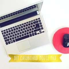 Diy Cardboard Mouse Pad