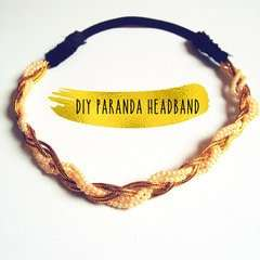 Diy Paranda Headband