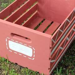 Diy Painted Wooden Crate