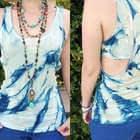 Cyanotype Tie Dye
