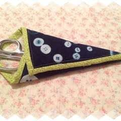 Cyanotype Fabric Scissor Case