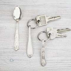 Silverware Key Chain