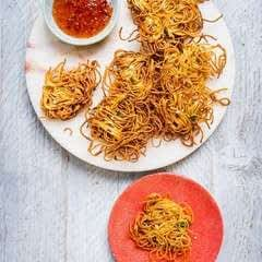 Sticky Fingers Noodle Fritters