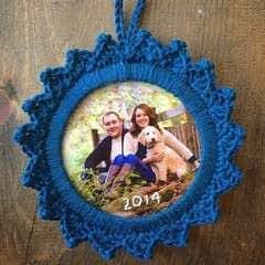 Picture Frame Ornament