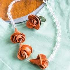 Roses Necklace & Ring Set