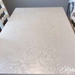 Stenciled Table Makeover