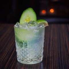 Cucumber Caiprioska
