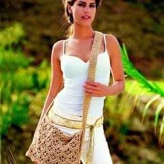 Shoulder Bag In Khaki