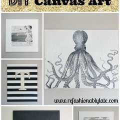 Diy Canvas Wall Art