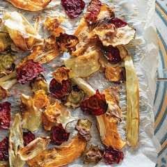 Home Baked Vegetable Crisps