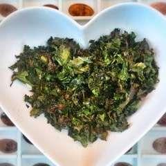 Spicy Soy Kale Crisps