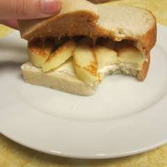 Apple, Honey, And Cream Cheese Pb Sandwich