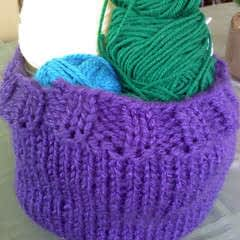 Yarn Storage Basket