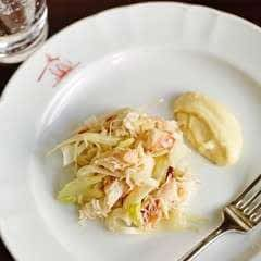 The Seahorse Crab Salad