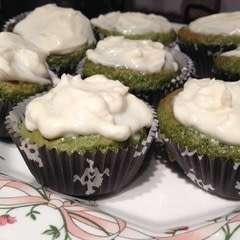 Green Tea Cupcakes!!