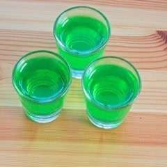 Slime Princess Jell O Shots