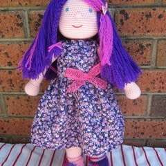 Crochet Waldorf Inspired Doll