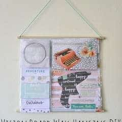 Vision Board Wall Hanging Diy