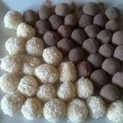 Malted & Vanilla Chocolate Truffles