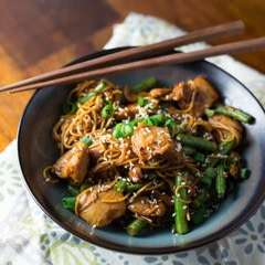 Spicy Korean Chicken Miso Stir Fry