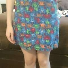 Little Monsters Dress And Shoes