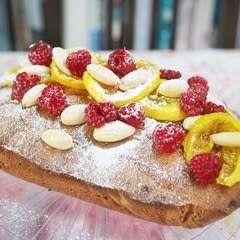 Lemon Sherbert Madeira Cake