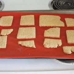 Homemade Gharam Crackers
