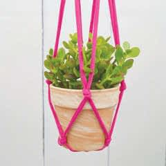 Knotted Hanging Planter
