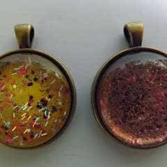 Nail Varnish Pendants
