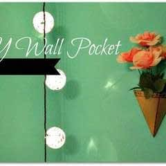 Diy Wall Pocket