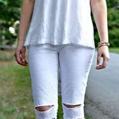 Diy Distressed Denim