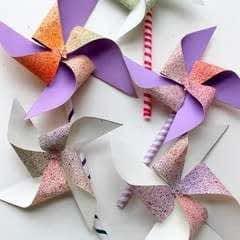 How To Make A Pinwheel!