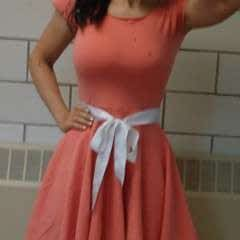 Circle Skirt Skater Dress