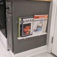 Kitchen Magazine Rack Diy