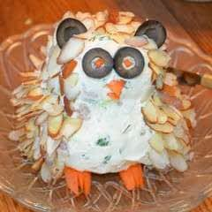 Owl Cheeseball