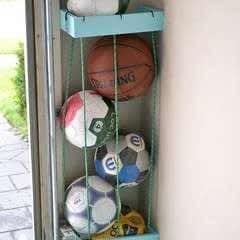 Garage Storage Solution   Sports Balls